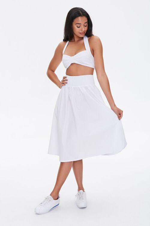 Sweetheart Crop Top & Skirt Set, image 1