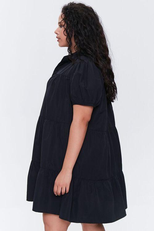 Plus Size Tiered Mini Dress, image 2