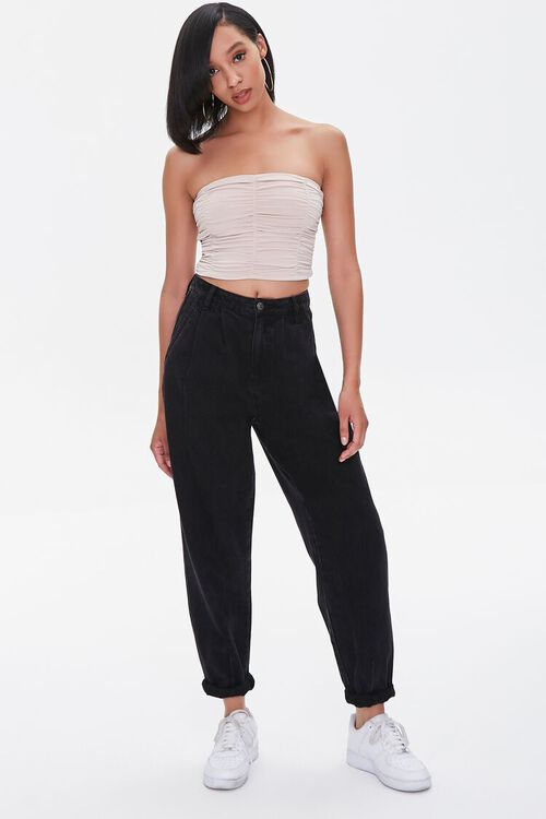 Ruched Tube Top, image 4