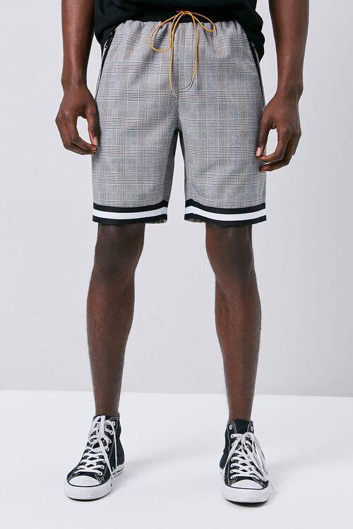 Glen Plaid Drawstring Shorts, image 2