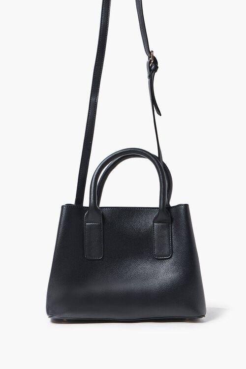Faux Leather Satchel, image 4