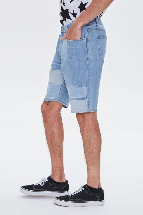Paneled Denim Shorts, image 3