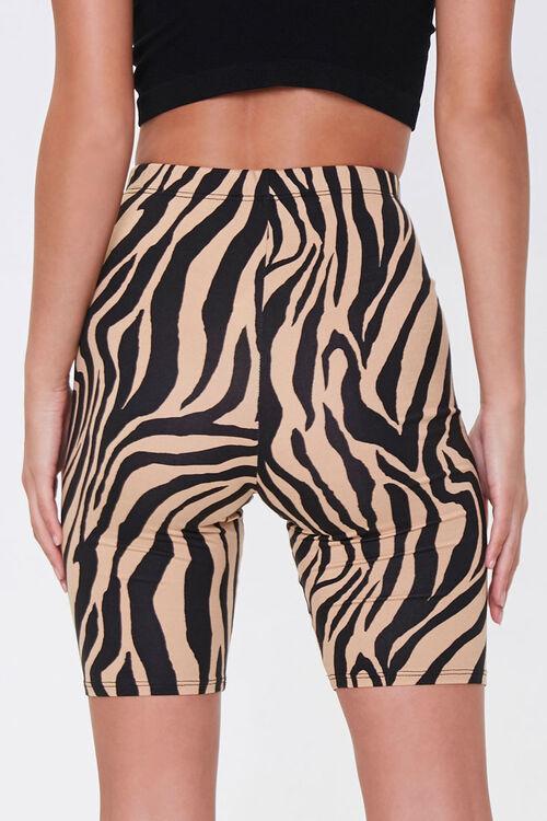 Tiger Print Biker Shorts, image 4