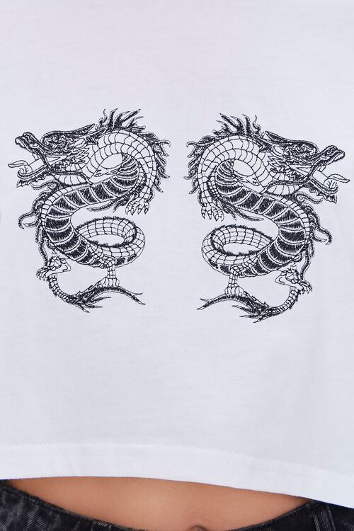 Cropped Dragon Graphic Tee, image 5