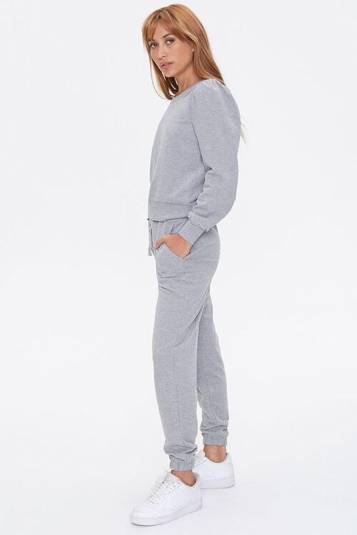 French Terry Top & Joggers Set, image 2