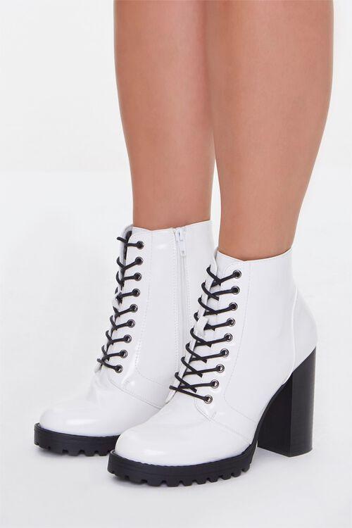 Block Heel Booties (Wide), image 1