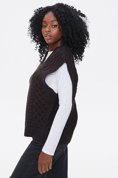 Relaxed-Fit Sweater-Knit Vest, image 2
