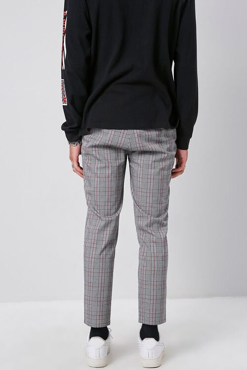 Plaid Woven Trousers, image 4