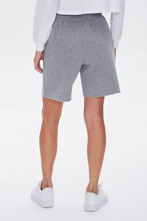 Basic Raw-Cut Drawstring Shorts, image 4