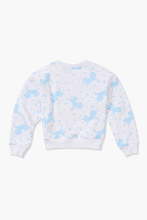 Girls Unicorn Print Sweatshirt (Kids), image 2