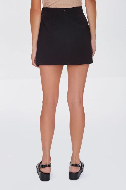 BLACK Overlay Mini Skirt, image 4