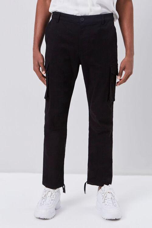 Self-Tie Jogger Cargo Pants, image 2