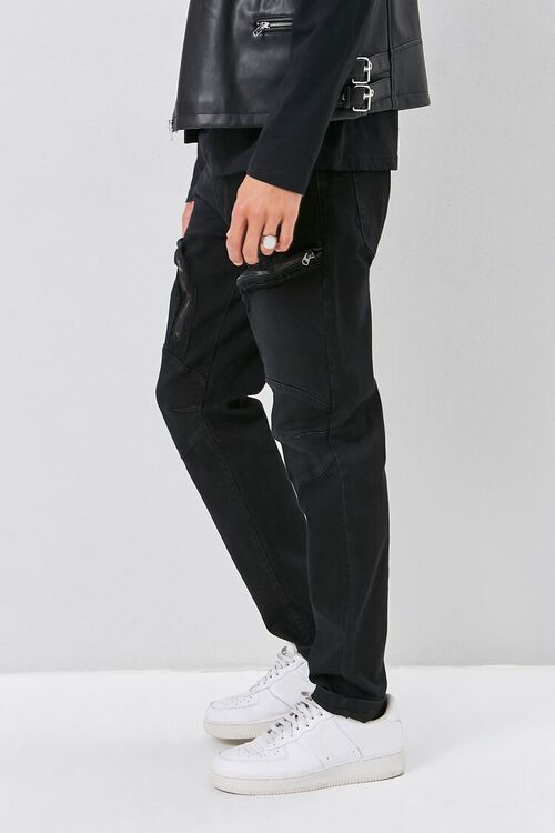 Zip-Pocket Skinny Jeans, image 3