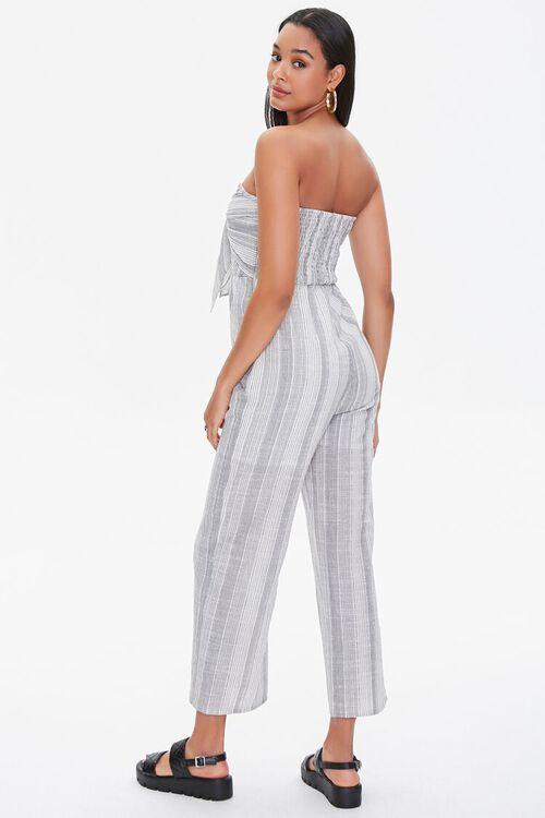 Striped Tie-Front Jumpsuit, image 3