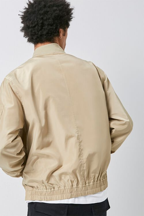 Zippered Bomber Jacket, image 3