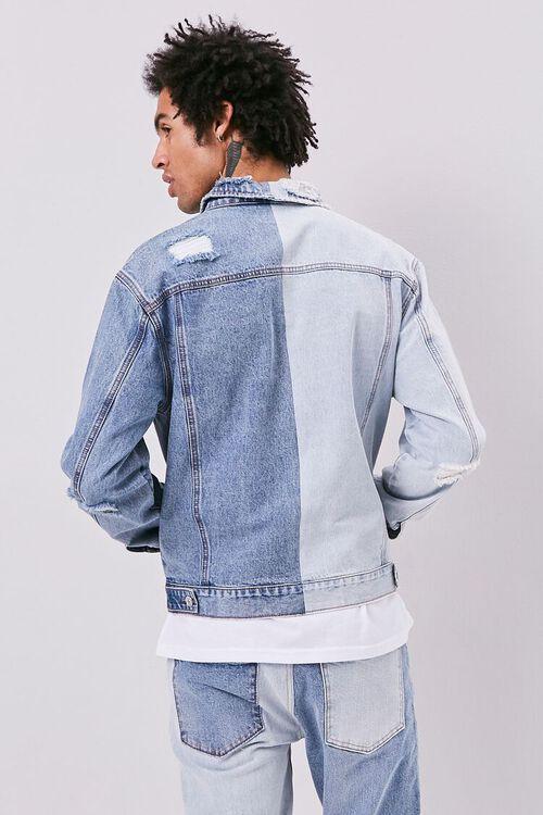 Colorblock Denim Jacket, image 3
