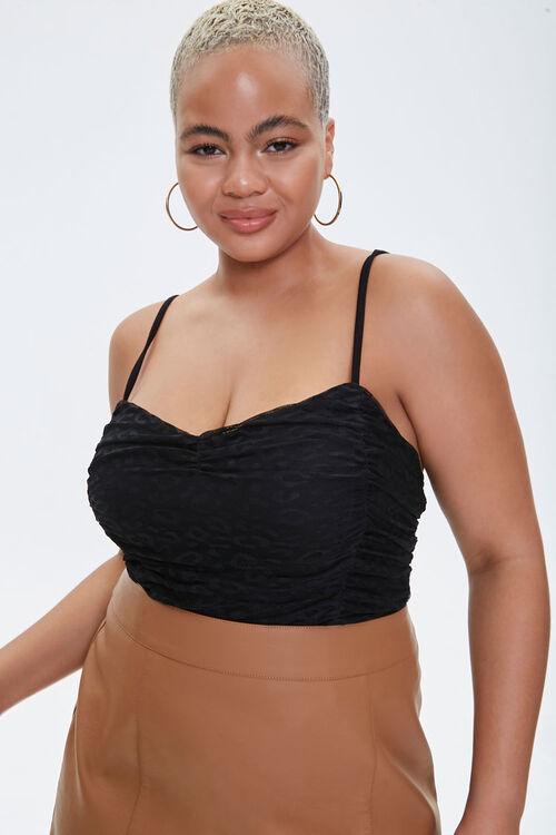 Plus Size Lace Sweetheart Bodysuit, image 1