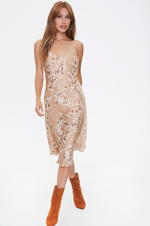 Leopard Print Slip Dress, image 4