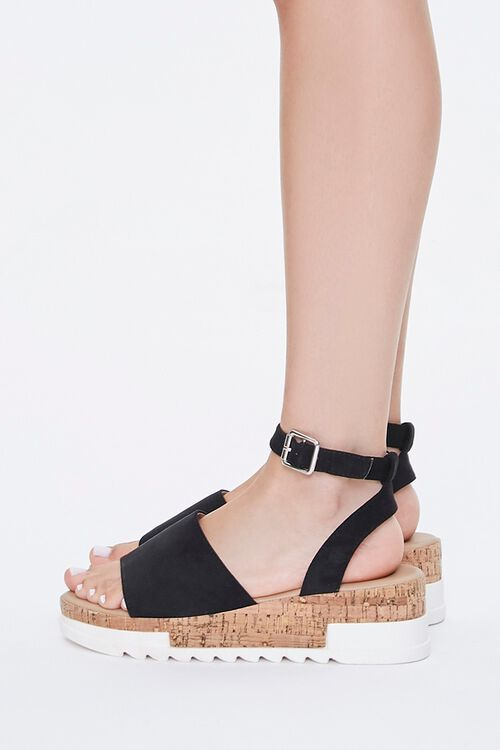 Open-Toe Cork Sandals, image 2