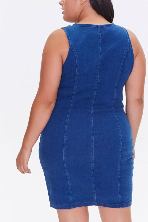 Plus Size Denim Bodycon Dress, image 3