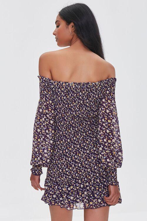 Floral Off-the-Shoulder Mini Dress, image 3