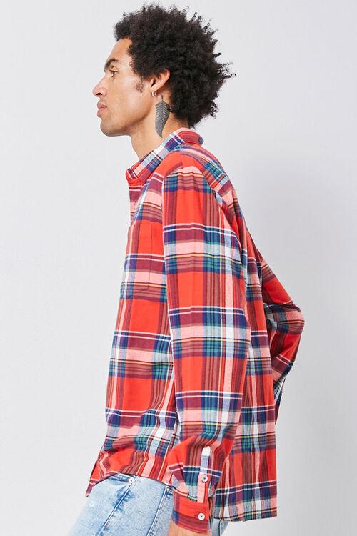 Classic Fit Plaid Flannel Shirt, image 2
