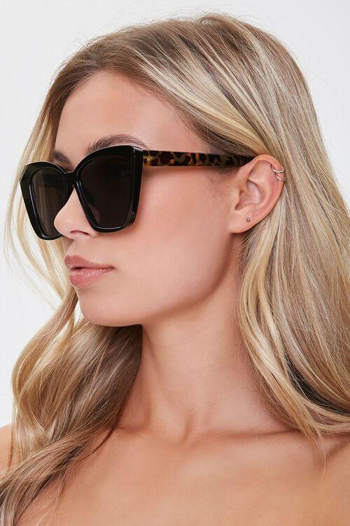 Contrast Cat-Eye Sunglasses, image 2
