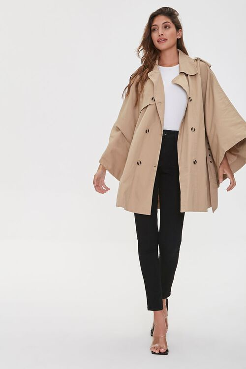Double-Breasted Trench Jacket, image 4