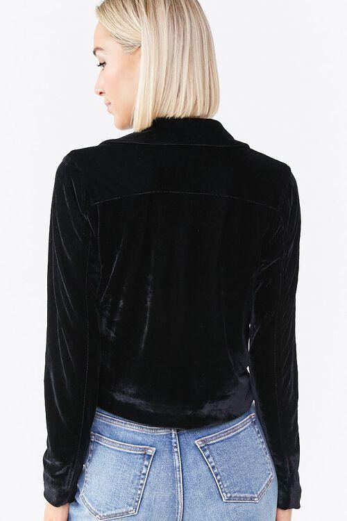 Velour Moto Jacket, image 3