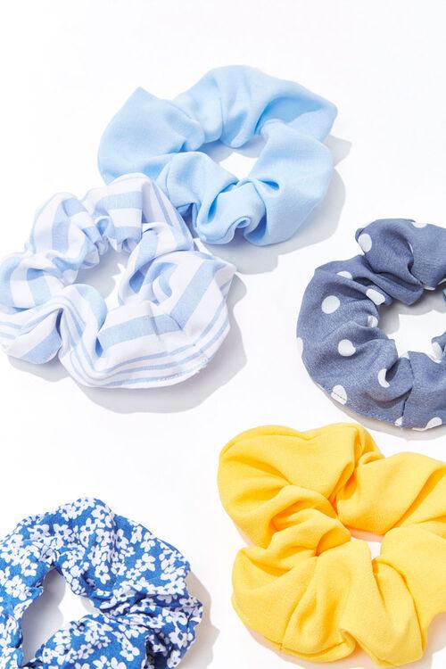 Printed Scrunchie Set, image 1