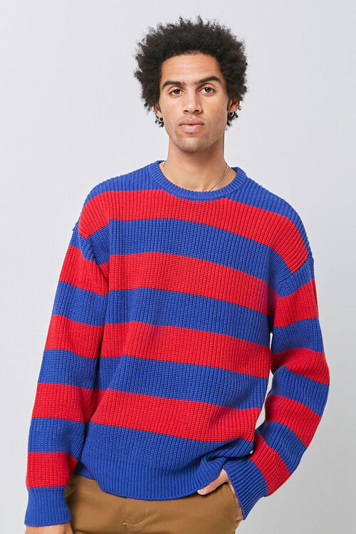 Ribbed Striped Sweater, image 2