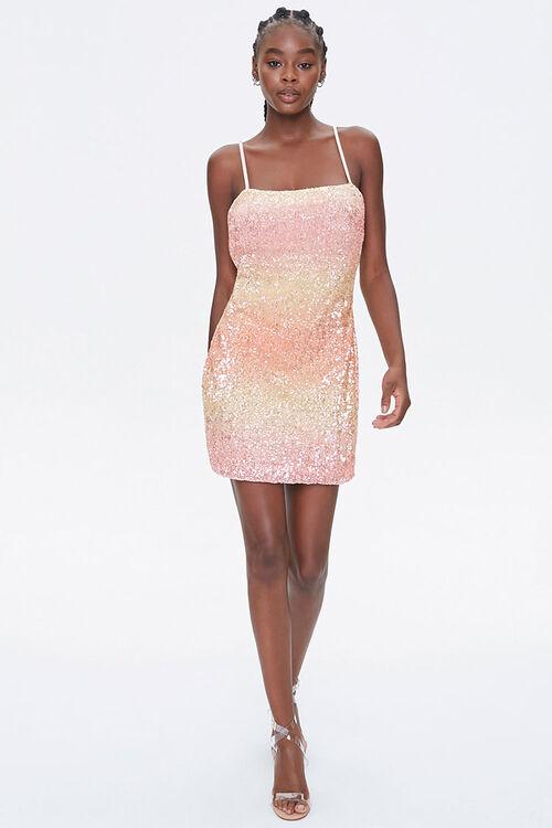 Sequin Cami Mini Dress, image 4