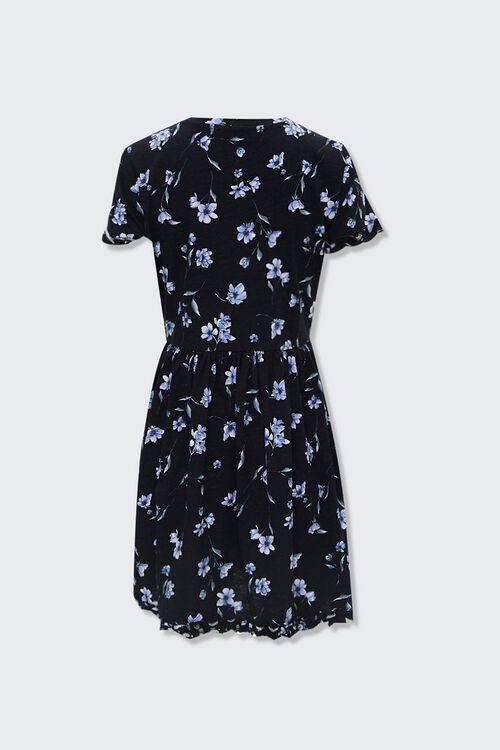 Ruffled Floral Mini Dress, image 2