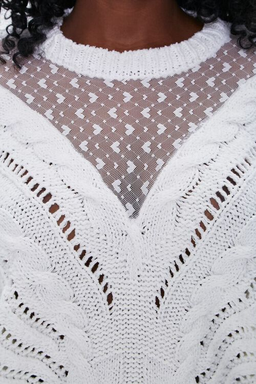 Illusion Mesh Sweater, image 5