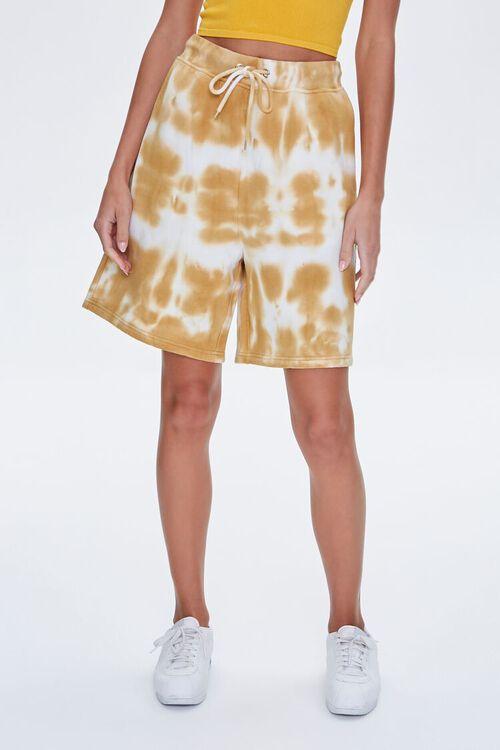 Bleached Drawstring Shorts, image 2