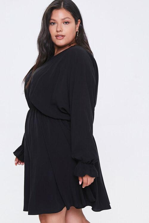 Plus Size Fit & Flare Dress, image 2