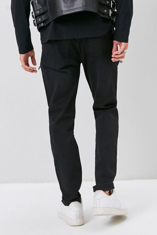 Zip-Pocket Skinny Jeans, image 4