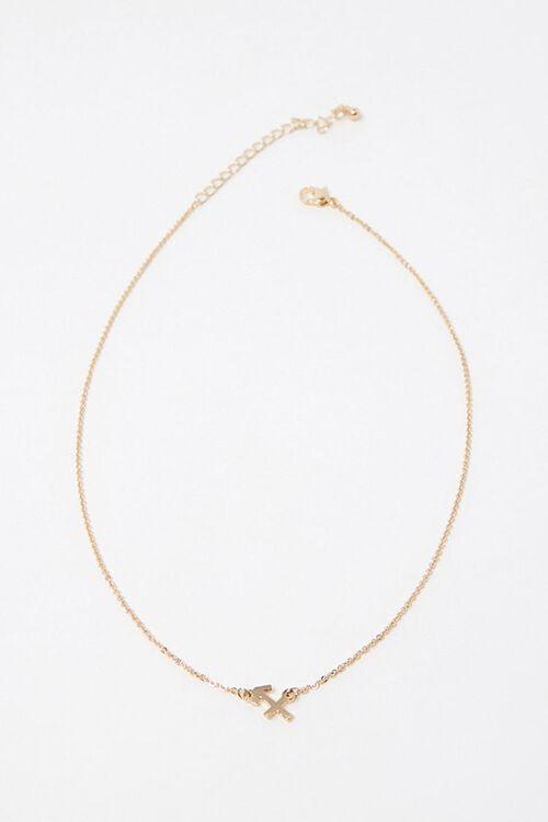 Sagittarius Charm Necklace, image 2