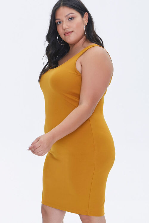 Plus Size Bodycon Tank Dress, image 2