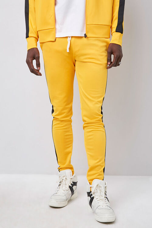 Ankle-Zip Side-Striped Sweatpants, image 2