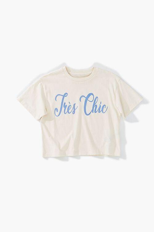 Girls Tres Chic Graphic Tee (Kids), image 1