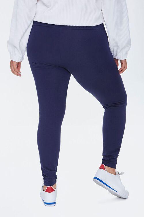 Plus Size High-Rise Long Leggings, image 4