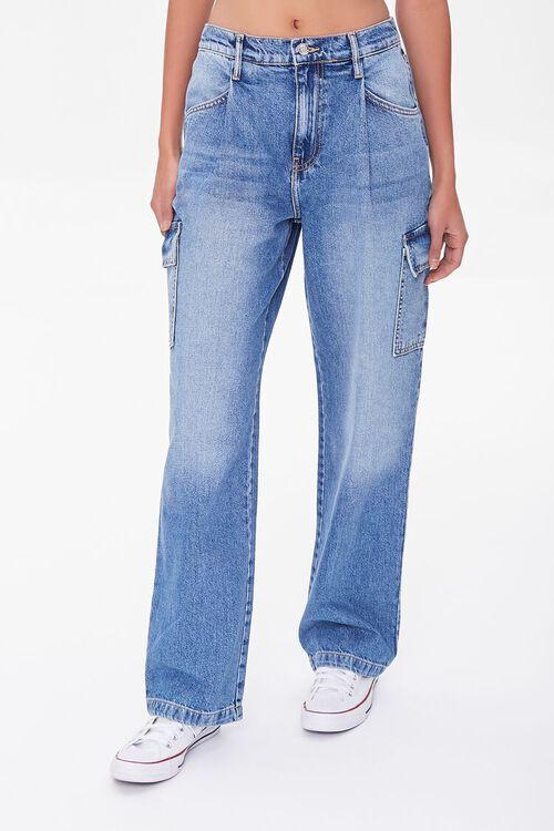 Cargo Straight-Leg Jeans, image 2