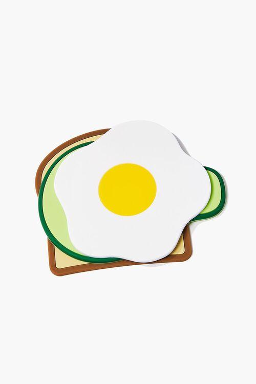 BROWN/MULTI Avocado Toast Coasters, image 2