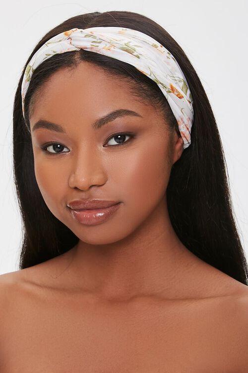 Floral Print Headwrap, image 1