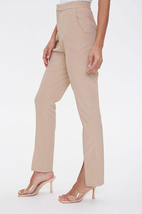 Darted Split Flare Pants, image 3