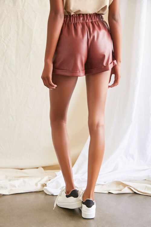 CHOCOLATE Coated Cuffed Shorts, image 4