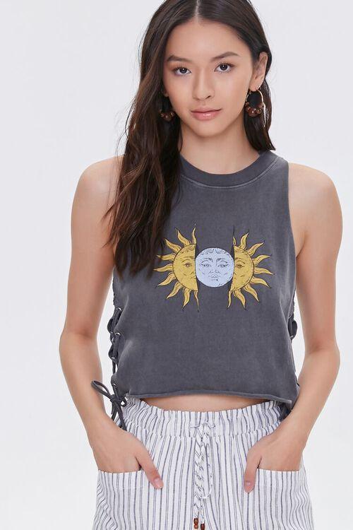 Sun & Moon Muscle Tee, image 2