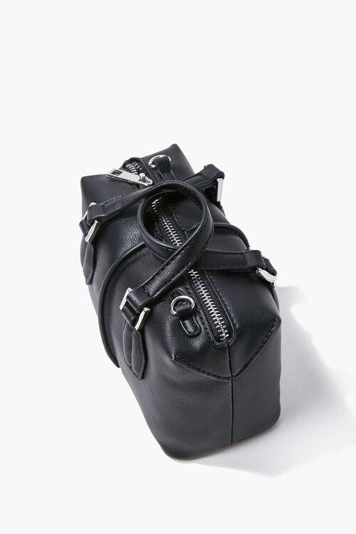 BLACK Top Handle Crossbody Bag, image 3