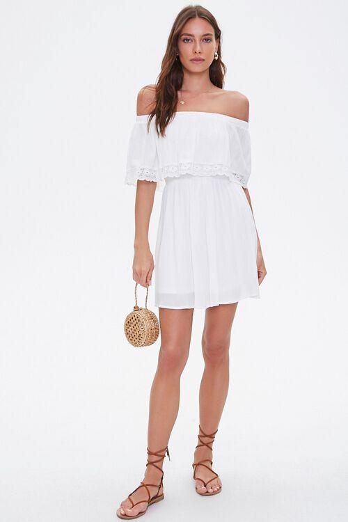 Crochet Off-the-Shoulder Dress, image 4